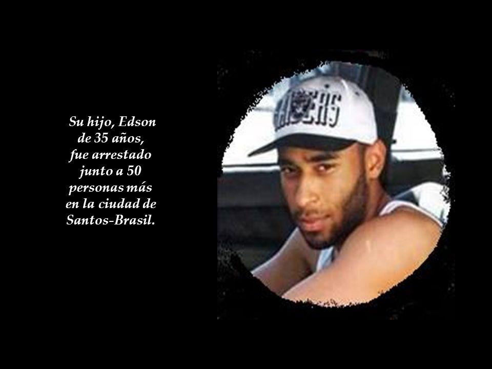 fue arrestado junto a 50 personas más en la ciudad de Santos-Brasil.