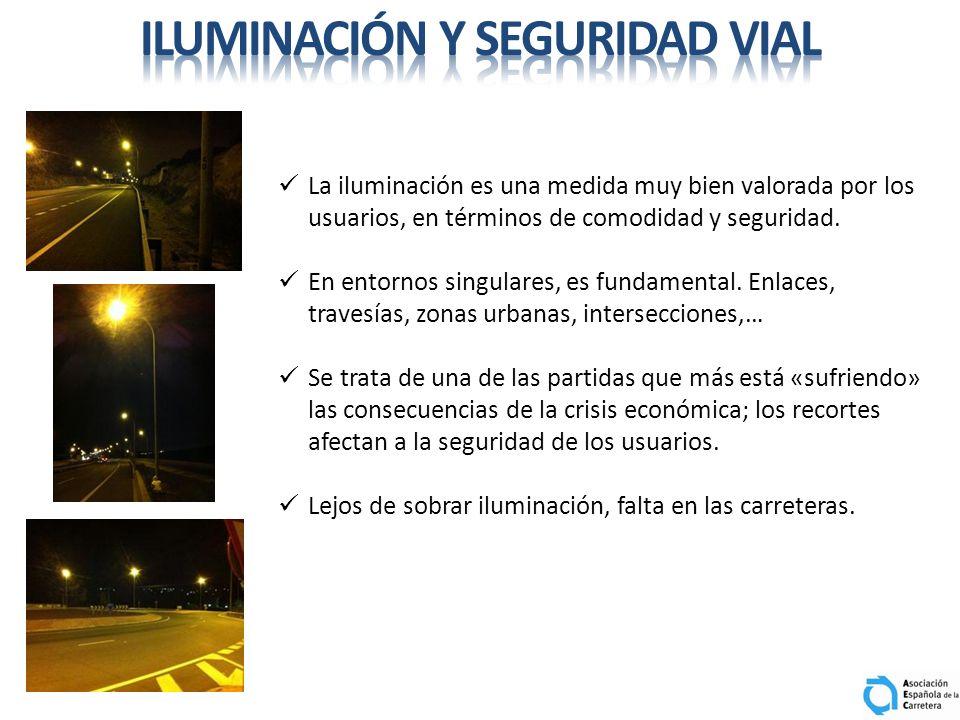 iluminación y seguridad vial
