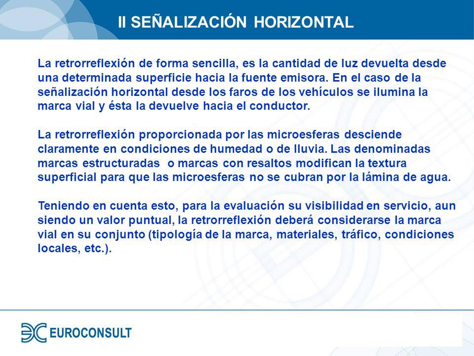II SEÑALIZACIÓN HORIZONTAL
