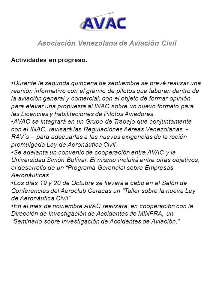 Asociación Venezolana de Aviación Civil