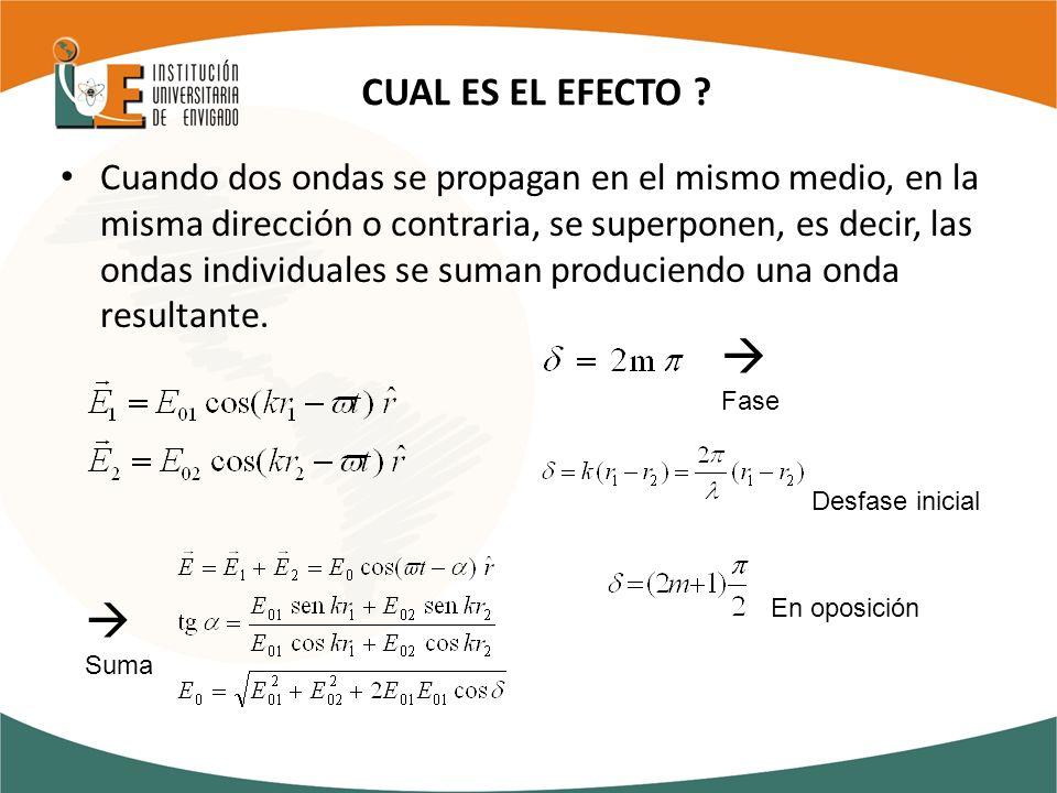 CUAL ES EL EFECTO