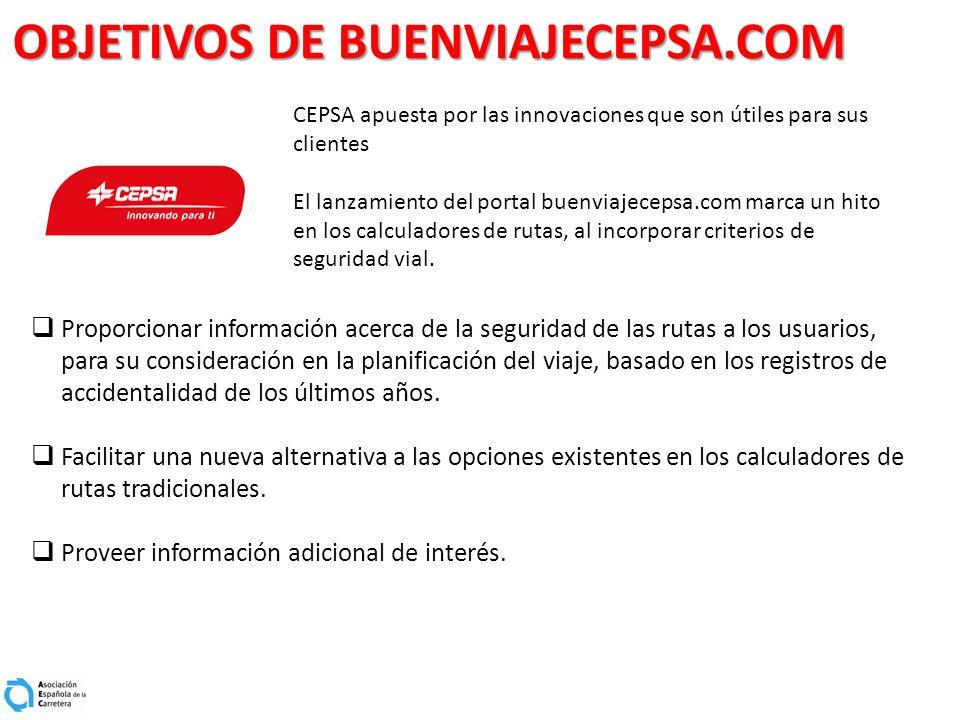 OBJETIVOS DE BUENVIAJECEPSA.COM