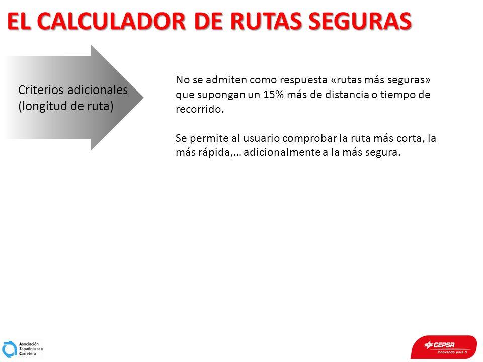 EL CALCULADOR DE RUTAS SEGURAS