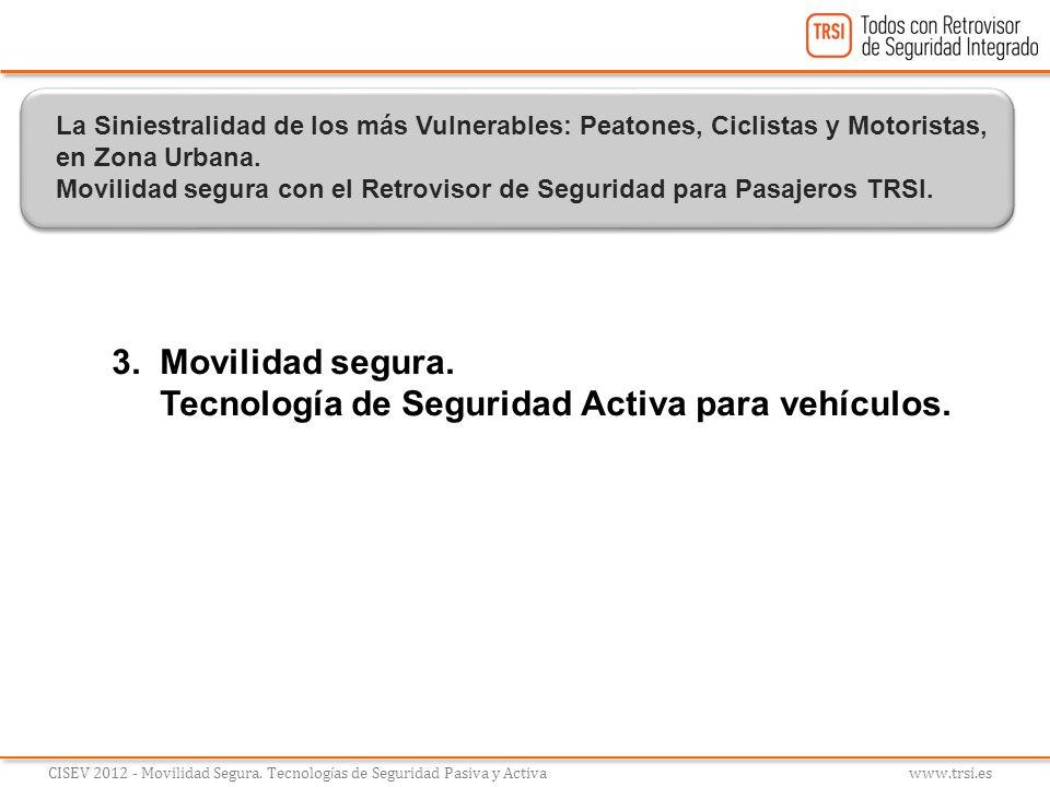 Tecnología de Seguridad Activa para vehículos.