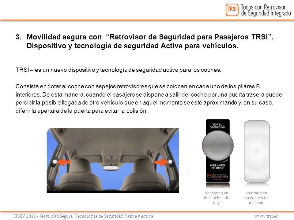 Movilidad segura con Retrovisor de Seguridad para Pasajeros TRSI