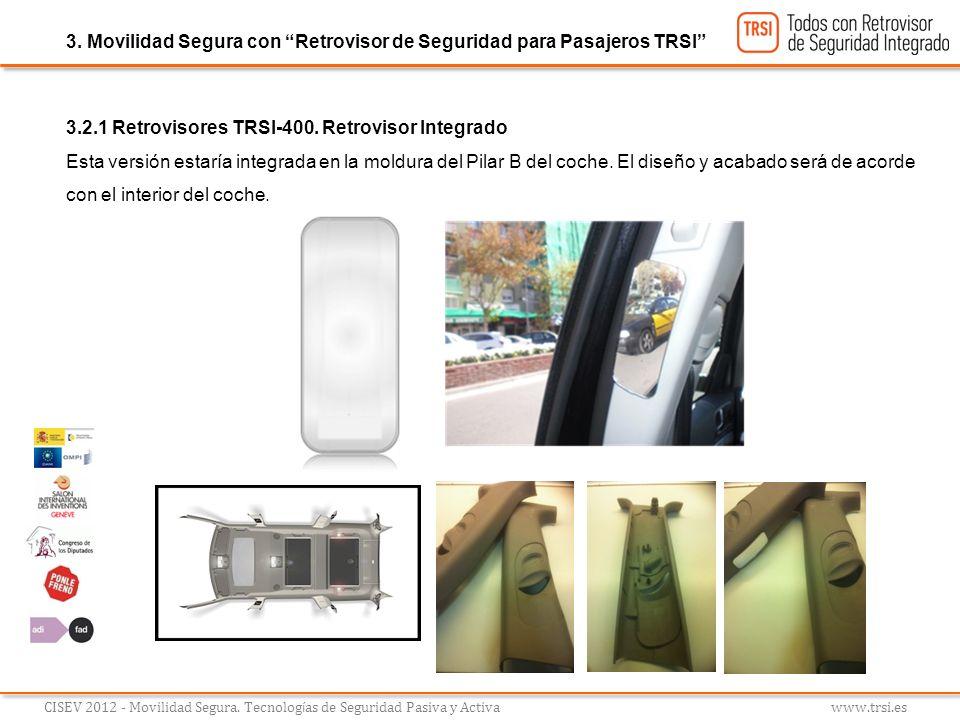 3. Movilidad Segura con Retrovisor de Seguridad para Pasajeros TRSI