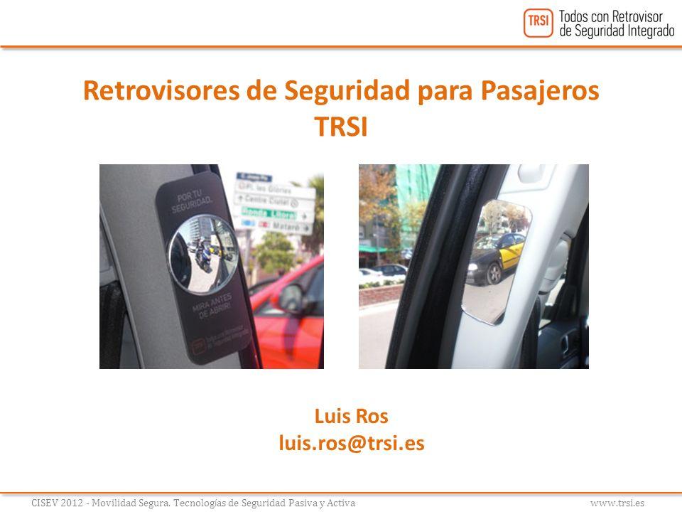 Retrovisores de Seguridad para Pasajeros TRSI