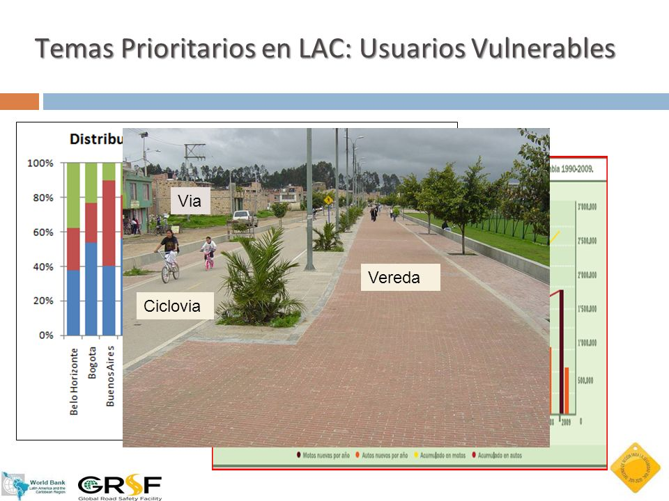 Temas Prioritarios en LAC: Usuarios Vulnerables