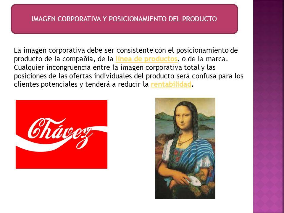 IMAGEN CORPORATIVA Y POSICIONAMIENTO DEL PRODUCTO
