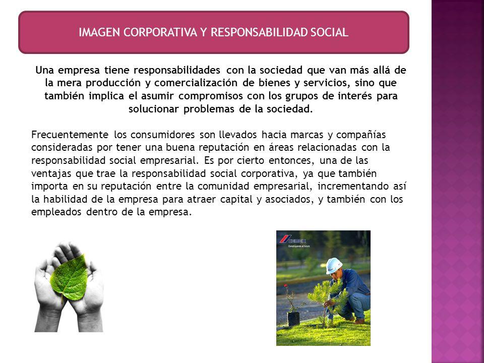 IMAGEN CORPORATIVA Y RESPONSABILIDAD SOCIAL