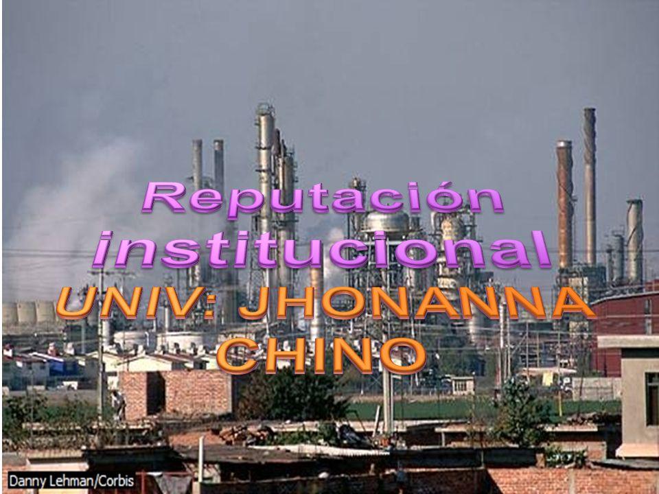 Reputación institucional