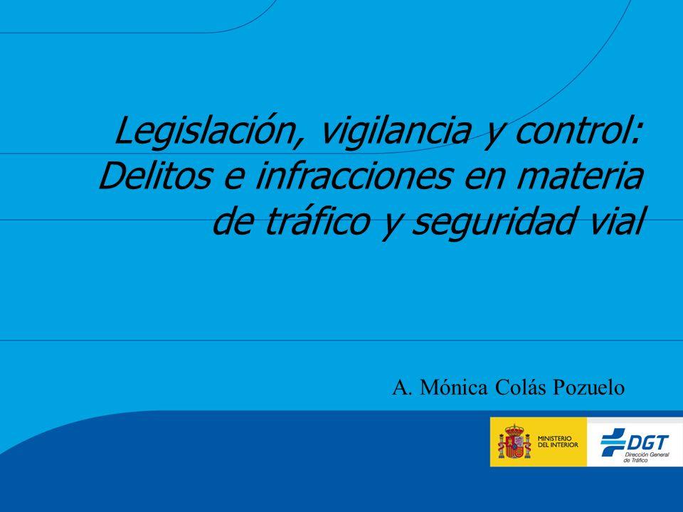 Legislación, vigilancia y control: