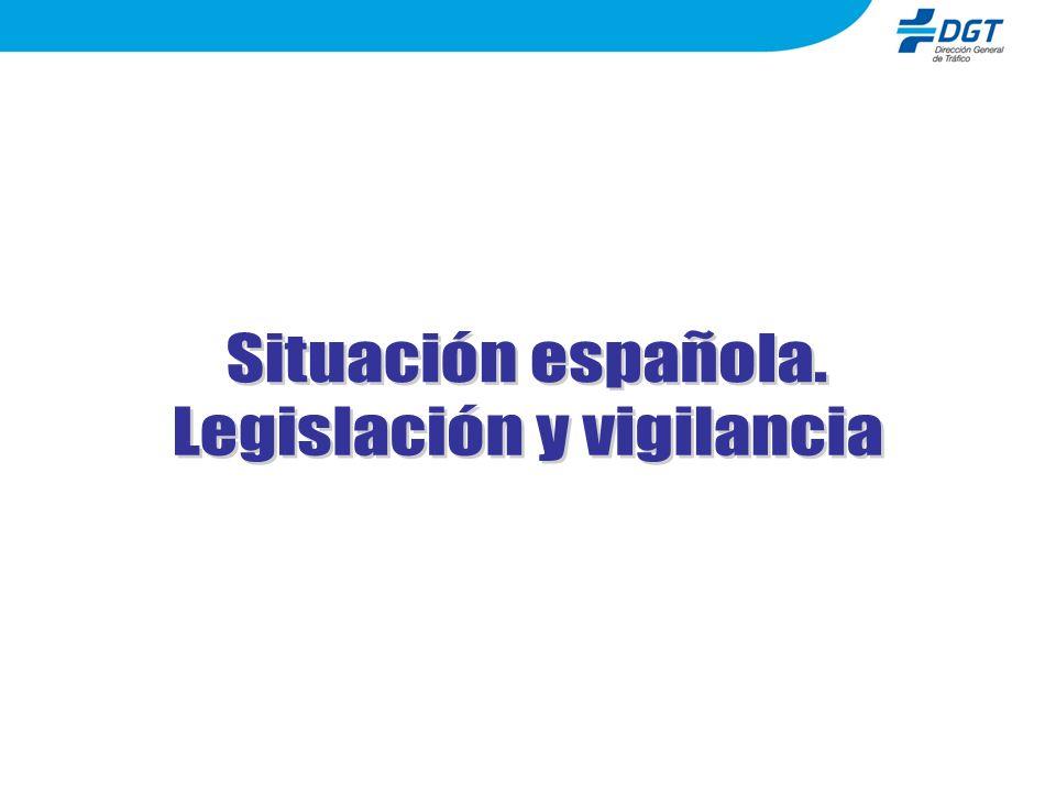 Legislación y vigilancia