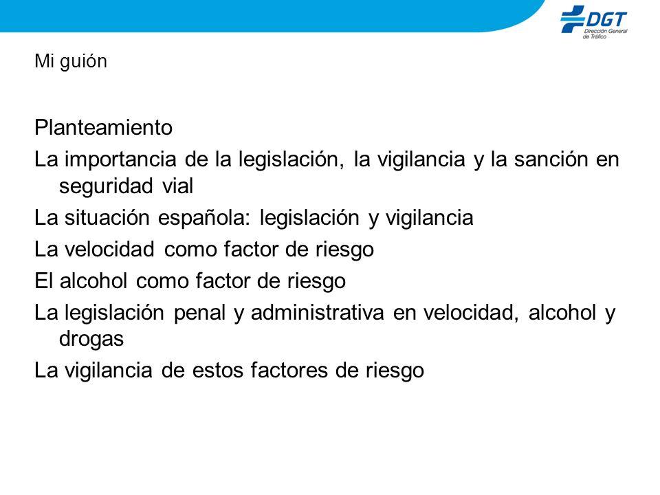 La situación española: legislación y vigilancia