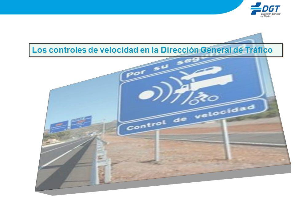 Los controles de velocidad en la Dirección General de Tráfico