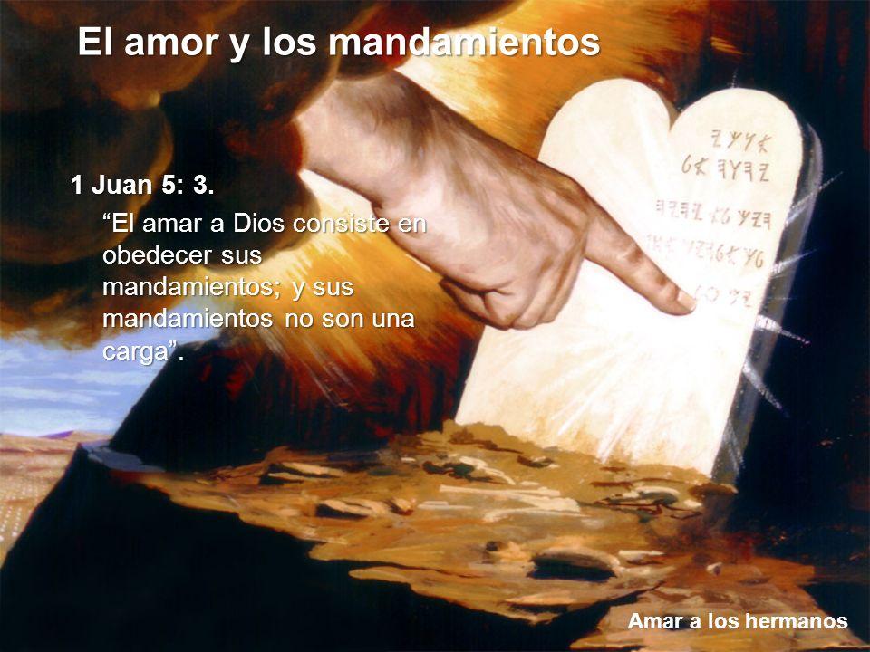 1 Juan 5: 3.
