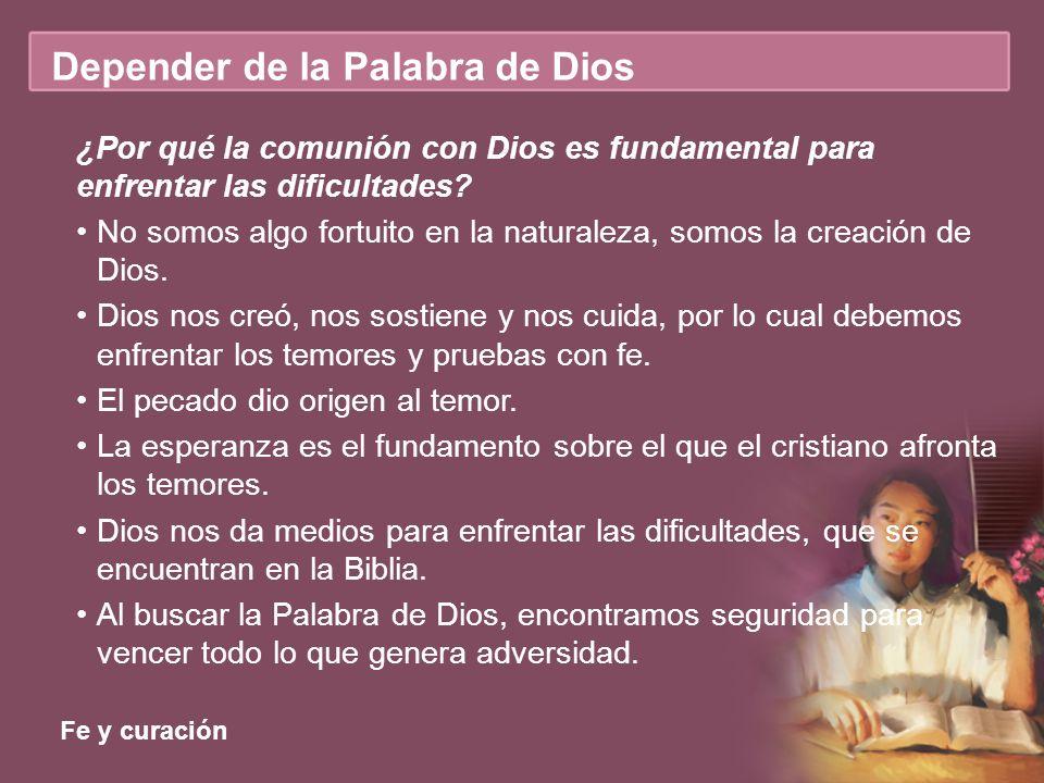 ¿Por qué la comunión con Dios es fundamental para enfrentar las dificultades