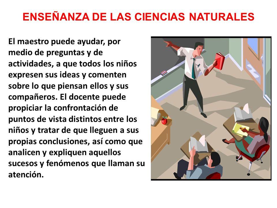 ENSEÑANZA DE LAS CIENCIAS NATURALES