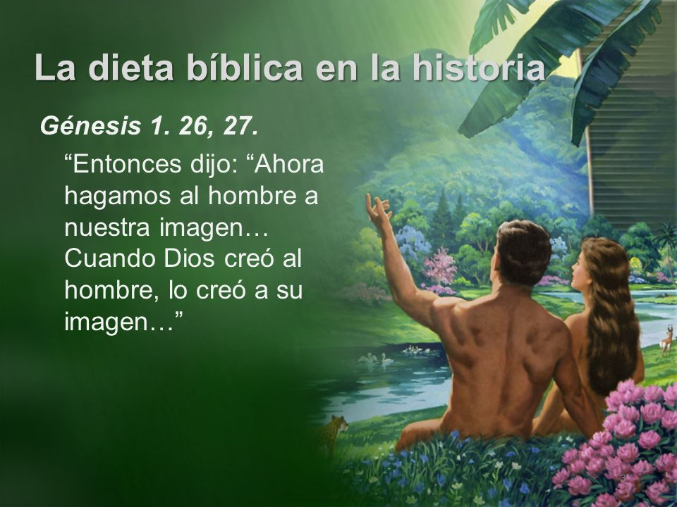 Génesis 1. 26, 27.