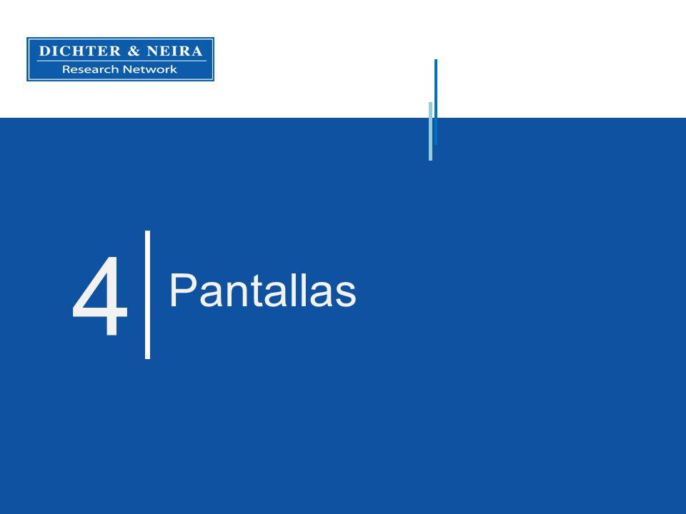 4 Pantallas