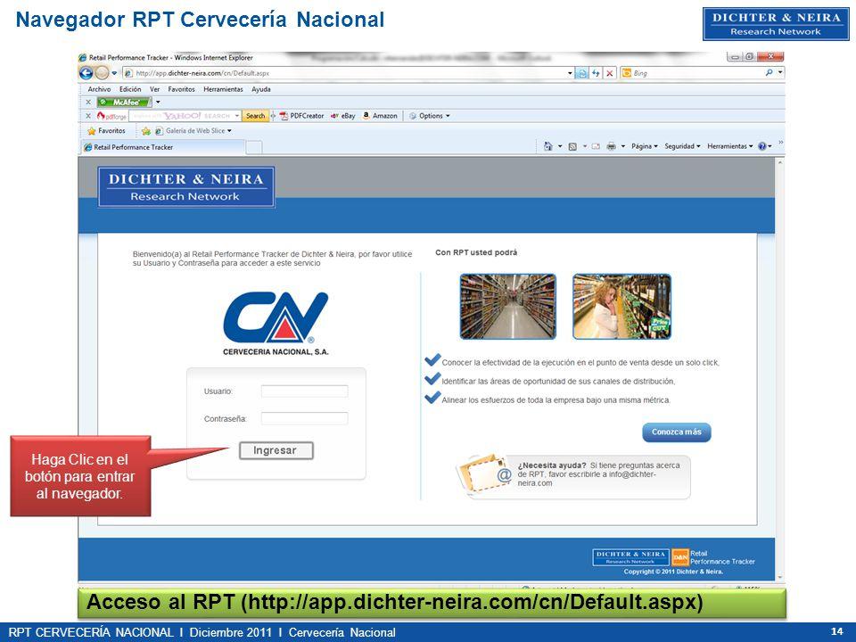 Navegador RPT Cervecería Nacional