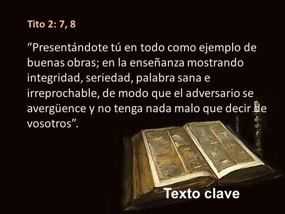 Tito 2: 7, 8