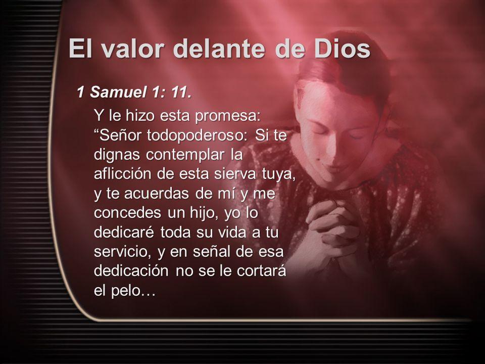 1 Samuel 1: 11.