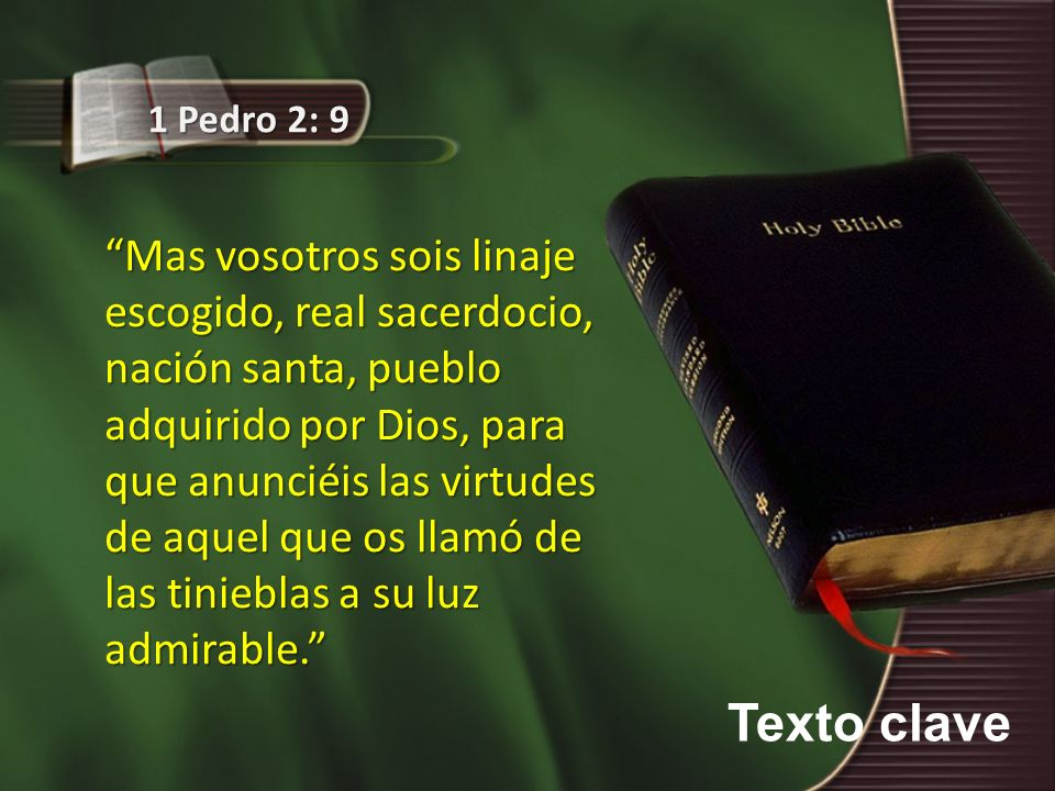1 Pedro 2: 9