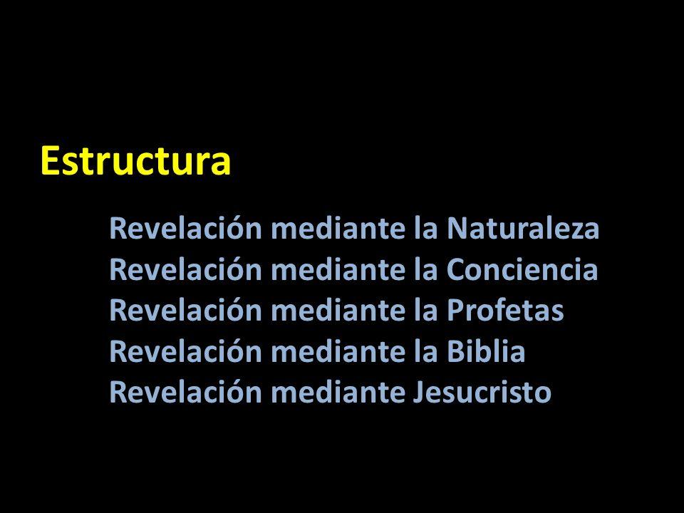 Estructura Revelación mediante la Naturaleza