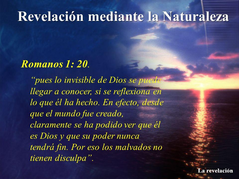 Romanos 1: 20.