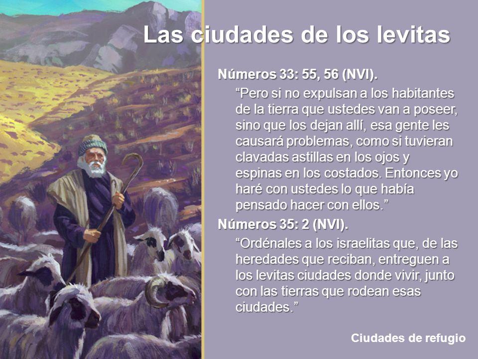 Números 33: 55, 56 (NVI).