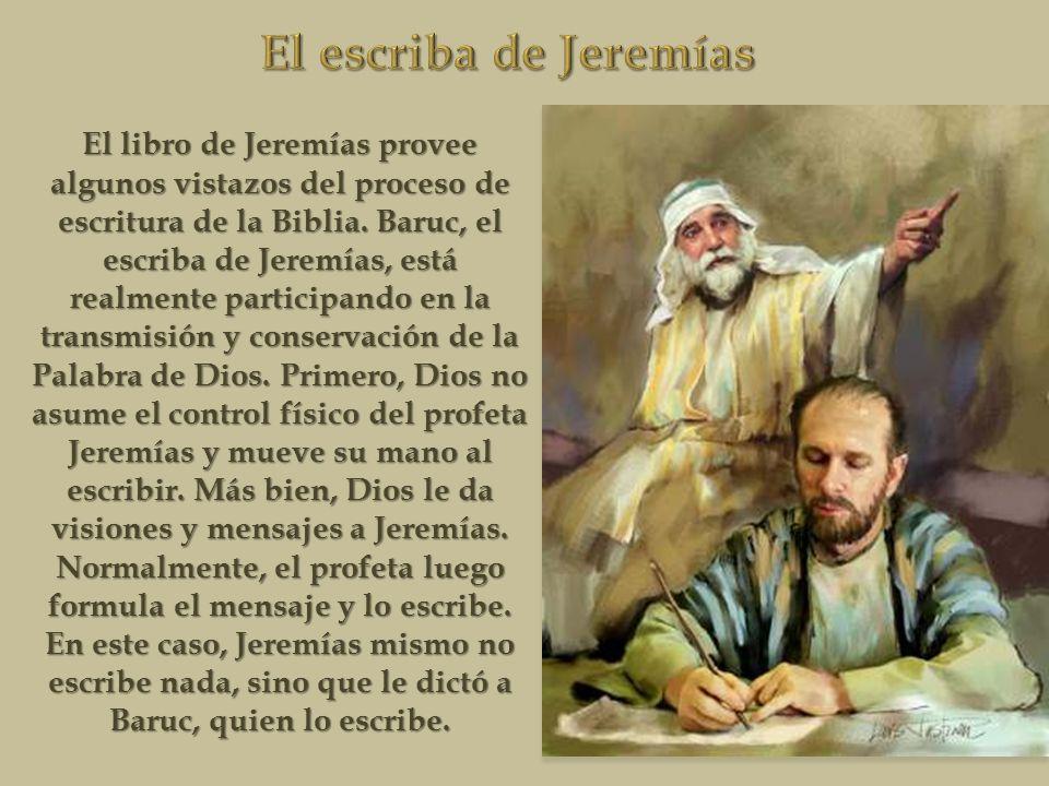 El escriba de Jeremías
