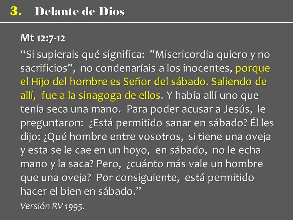 Mt 12:7-12