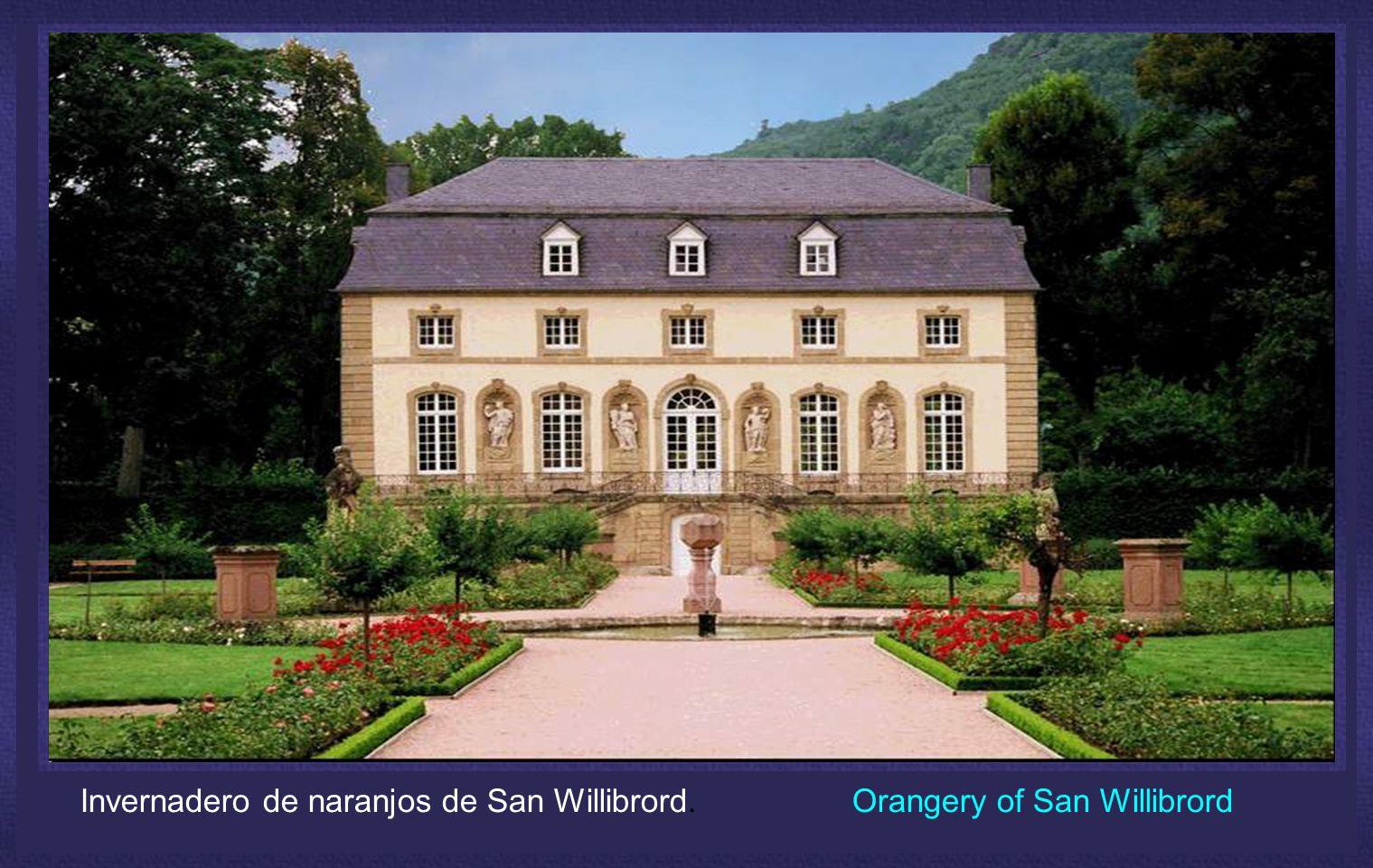 Invernadero de naranjos de San Willibrord. Orangery of San Willibrord