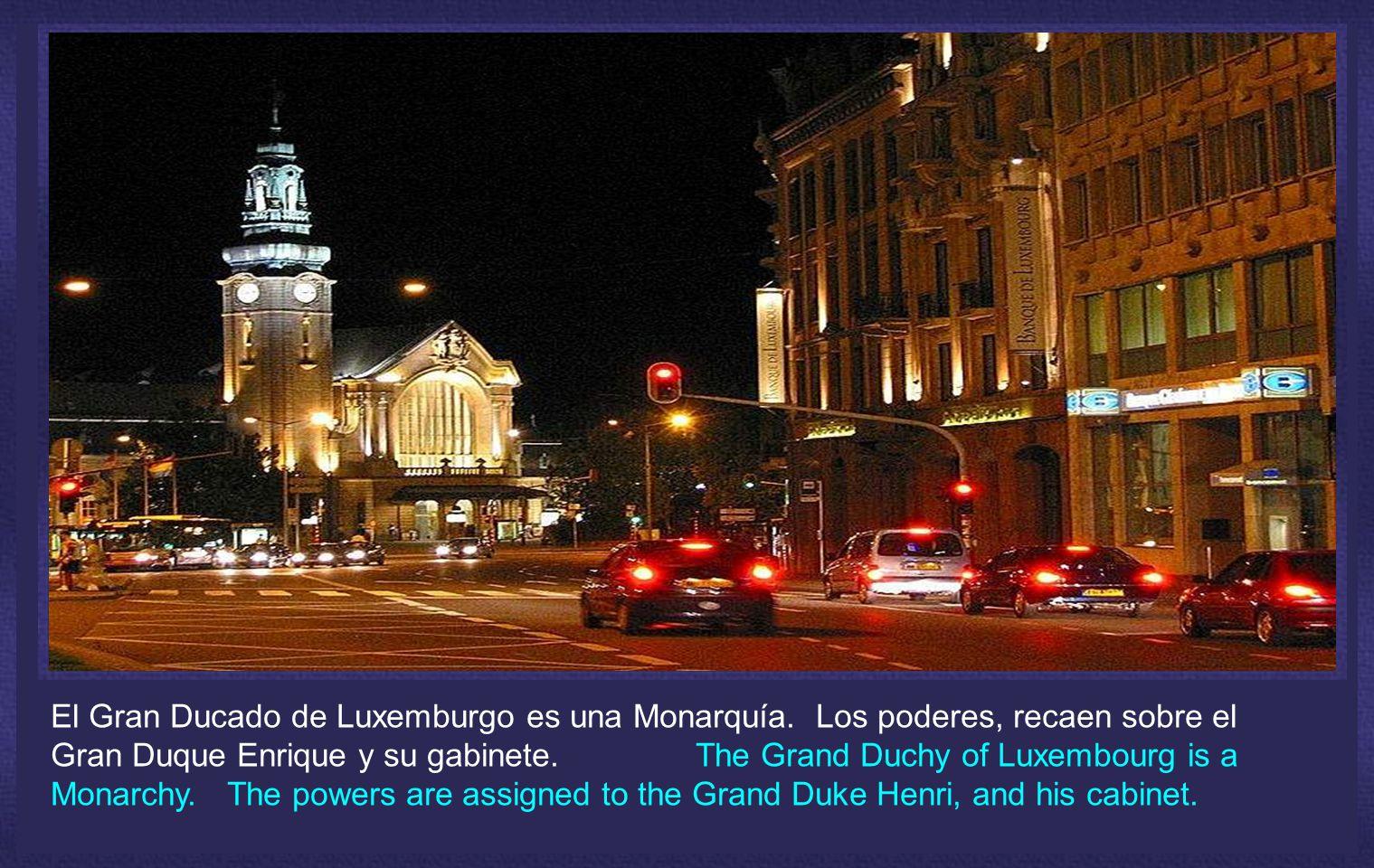 El Gran Ducado de Luxemburgo es una Monarquía