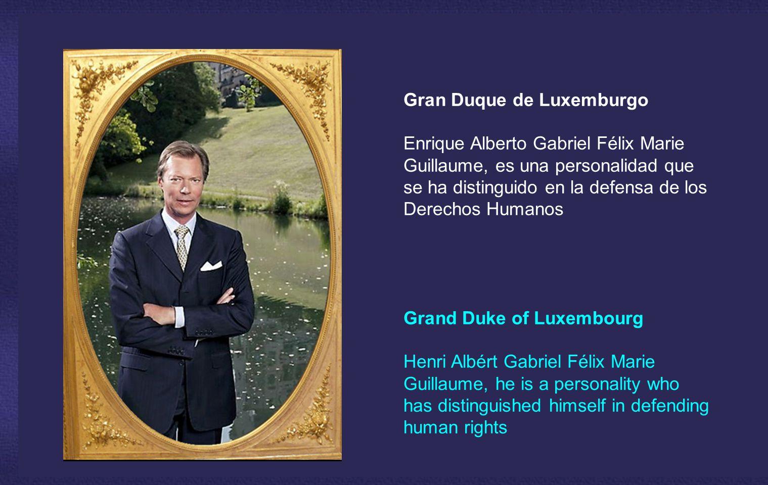 Gran Duque de Luxemburgo