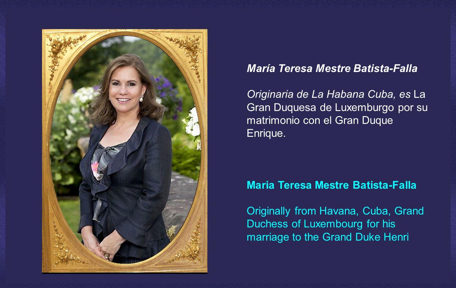 María Teresa Mestre Batista-Falla