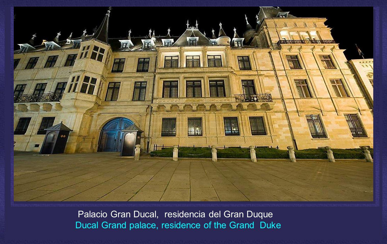 Palacio Gran Ducal, residencia del Gran Duque