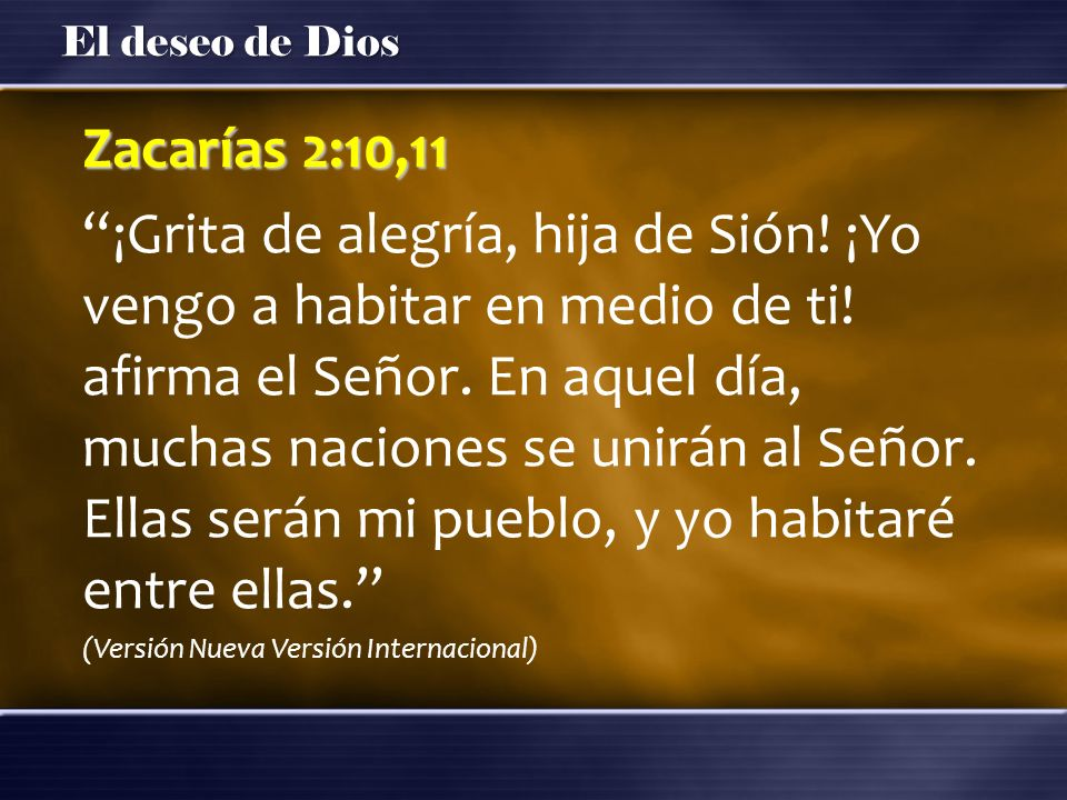 Zacarías 2:10,11
