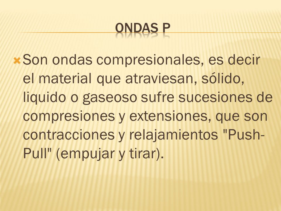 ONDAS P