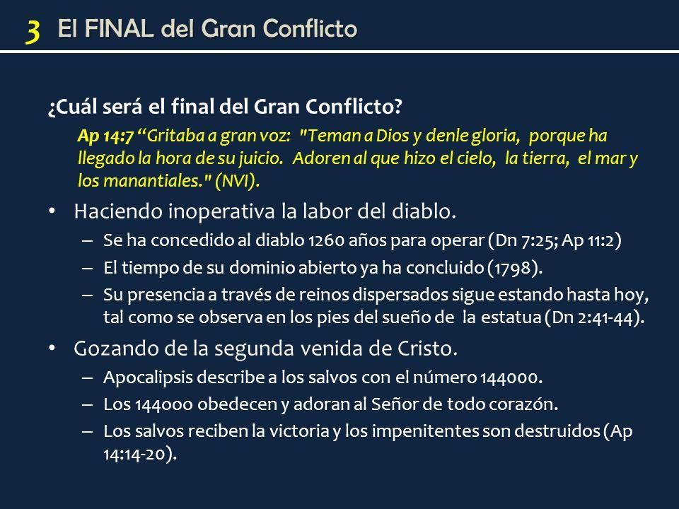 ¿Cuál será el final del Gran Conflicto