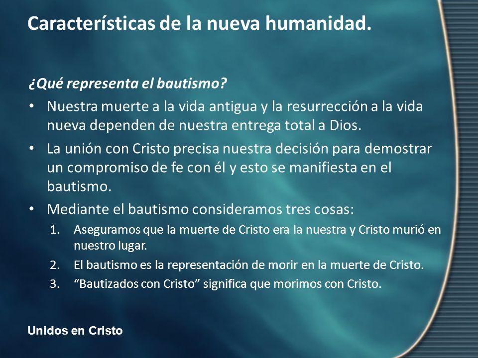 ¿Qué representa el bautismo