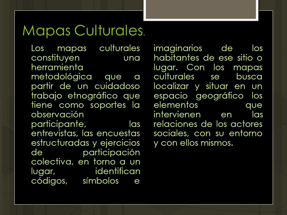 Mapas Culturales.