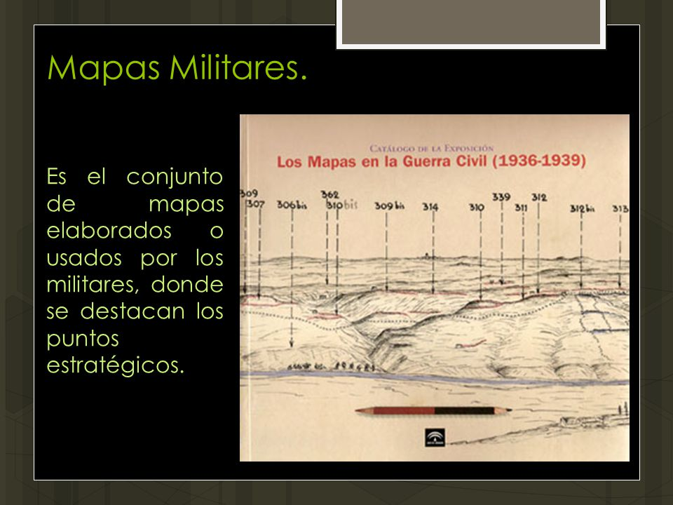 Mapas Militares.