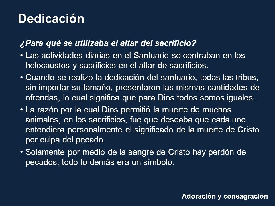 ¿Para qué se utilizaba el altar del sacrificio