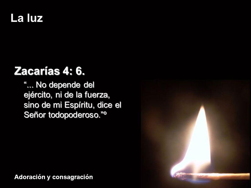 Zacarías 4: 6. ...
