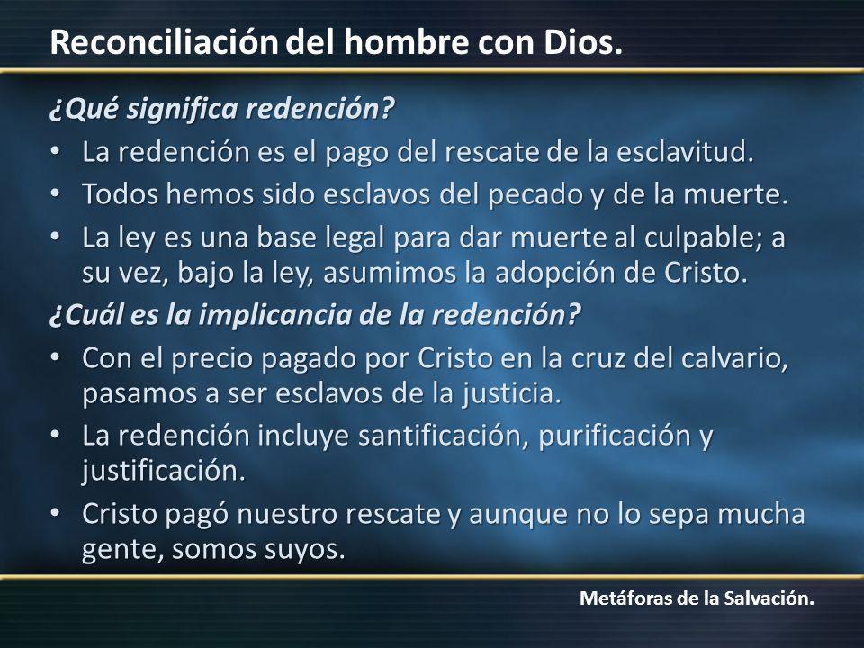 ¿Qué significa redención