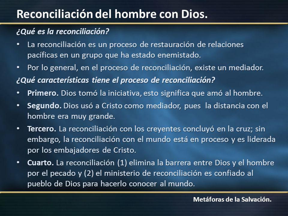 ¿Qué es la reconciliación