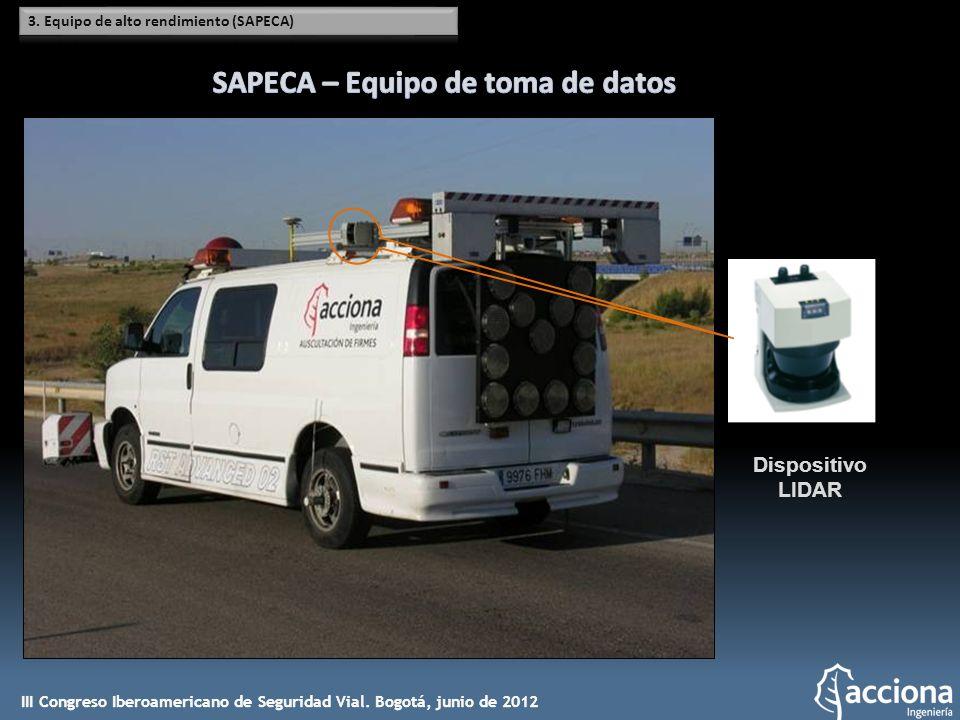 SAPECA – Equipo de toma de datos
