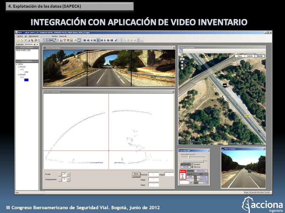 INTEGRACIÓN CON APLICACIÓN DE VIDEO INVENTARIO